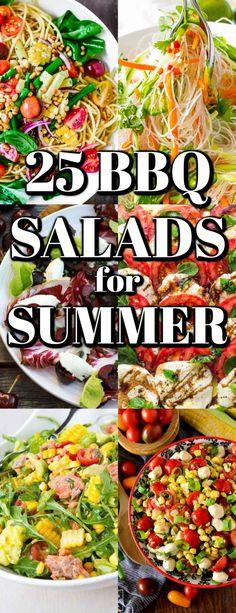 Summer Picnic Salads, Best Summer Salads, Bbq Salads, Easy Salads, Summer Bbq, Wedge Salad Recipes, Chopped Salad Recipes, Summer Salad Recipes, Easy Salad Recipes