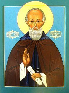 St. Bede the Venerable, patron saint of writers, historians, and scholars.