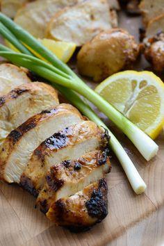 GINGER TERIYAKI GRILLED CHICKEN BREASTSReally nice recipes.  Mein Blog: Alles rund um die Themen Genuss & Geschmack  Kochen Backen Braten Vorspeisen Hauptgerichte und Desserts # Hashtag