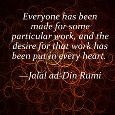 Jalal ad-Din Rumi Quote