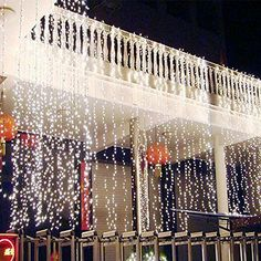 3Mx3M-300-LED-Outdoor-christmas-xmas-String-Fairy-Wedding-Curtain-Light-110V