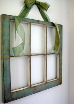 You know those old window frames that are either tossed aside (GASP),  only by those that don't know the value of what they are tossing ,...