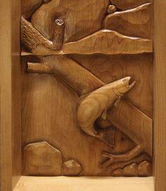 wood carving | Custom Relief Wood Carvings