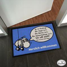Neue Motive von frech bis herzlich im sheepworld Mattenshop! http://sheepworld.matmaker.at/