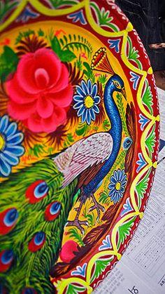 Pakistani truck art inspired decor
