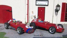 2x Lancia Ferrari 801.