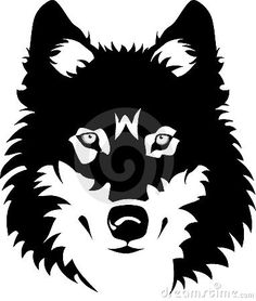 wolf face outline | Wolff Outline | New Calendar Template Site