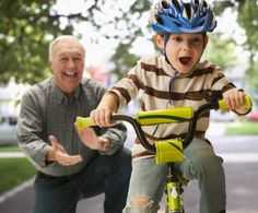 Learning how to ride a bike is one of the greatest moments of childhood AND parenting!    http://qoo.ly/bacwy