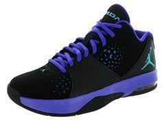 Nike Jordan Mens Jordan 5 AM BlackBlue LaggonBrght Cncrd Training Shoe 95 Men US -- You can find out more details at the link of the image.