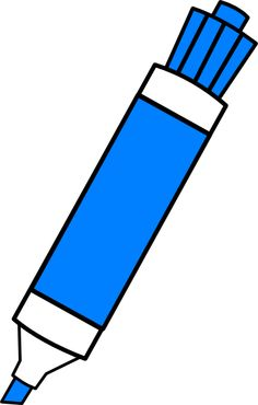 The Blue Marker - La marcaderor azul