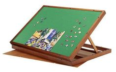 Woodworking Jigsaw Folding jigsaw puzzle table - B