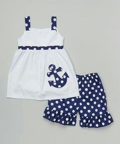 Schau dir diese an! BeMine White Navy Dot Anchor Kleid Shorts Klei Schau dir diese an! BeMine White Navy Dot Anchor Kleid Shorts Kleinkind The post Schau dir diese an! BeMine White Navy Dot Anchor Kleid Shorts Klei appeared first on Toddlers Ideas. Toddler Dress, Toddler Outfits, Baby Dress, Kids Outfits, Infant Toddler, Toddler Girls, Little Girl Fashion, Kids Fashion, Fashion Clothes