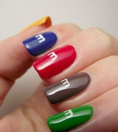 Popular Color for Nail Art