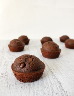 Double Chocolate Muffins - The Simple, Sweet Life