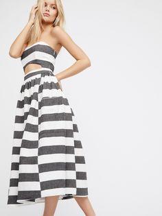 Cut Out Midi Dress