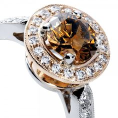 bella rosa anillo de diamantes de oro anillos de oro rosa joyera del diamante joyas de oro anillos de la joyera joyera fina joyera ideas
