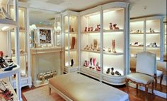Ralph Lauren Could be beautiful inspiration for an elegant dressing room ;)