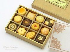 ハンドメイドマーケット minne(ミンネ)| 『クッキーの詰め合わせ』ドールハウス・ミニチュア