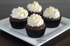 Coconut Cupcake (Gluten Free, Paleo)  @louise living Healthy With Chocolate