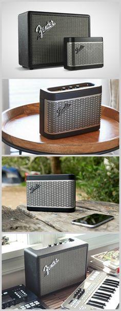 Fender rocks into the Bluetooth speaker game #affiliate