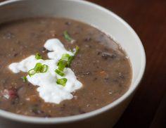 Black Bean and Ham Soup Recipe