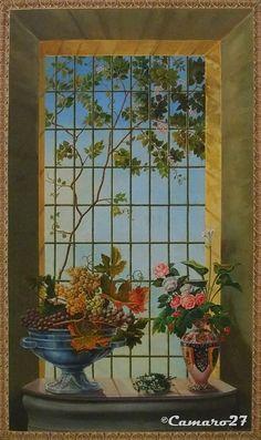 """Pascasio González Erazo, """"La ventana"""". MARTE Museo de Arte de El Salvador by CAMARO27, via Flickr"""