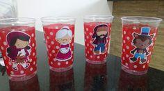 Idéias servir suco chapeuzinho vermelho