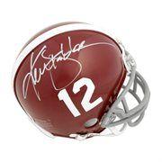 Ken Stabler Alabama Crimson Tide Fanatics Authentic Autographed Mini Helmet