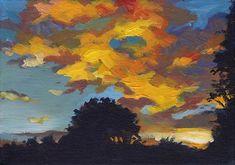 """November Sunset"" -  J M Needham"