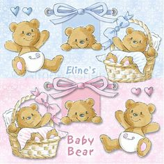 Elines Baby Bear :: Clipart and Graphics :: Aimee Asher Boutique