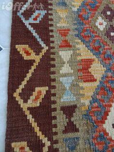 STUNNING AFGHAN TURKOMAN KILIM RUNNER from Yamood Turkmen Carpets by DaWanda.com