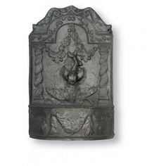 Dolphin Fountain in Faux Lead Finish design by Capital Garden Products Outdoor Wall Fountains, Concrete Fountains, Tabletop Water Fountain, Garden Fountains, Outdoor Walls, Water Fountains, Garden Pots, Outdoor Living, Fiberglass Planters