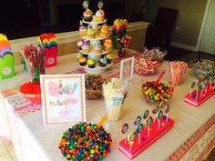 Sweet Shoppe candy buffet