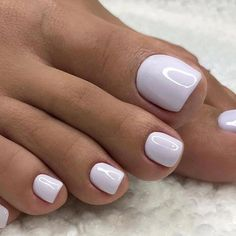 Make an original manicure for Valentine's Day - My Nails Gel Toe Nails, Acrylic Toe Nails, Feet Nails, Pedicure Nails, My Nails, Gel Toes, White Pedicure, Pink Toe Nails, Toe Nail Art