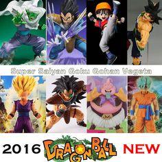 Dragon Ball Z Super Blue Hair Goku Vegeta PVC Action Figure dbz Pan Picollo Buu Raditz Trunks Collectible Model Toy DragonBall //Price: $19.99 & FREE Shipping //     #PinoftheDay