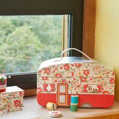 Bright Pop Caravan Sewing Box