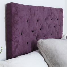 DIY Tufted Headboard Related posts: How to DIY Your Velvet Diamond-Tufted Headboard trendy Ideas for diy headboard cardboard tufted Ideas Diy Headboard Black Kids Rooms Diy Wood Headboard Black >> The Bed Head Diy Tufted Headboard, Diy Headboards, Headboard Ideas, Upolstered Headboard, Pegboard Headboard, Tufting Diy, Making A Headboard, Diy Headboard With Lights, Purple Headboard