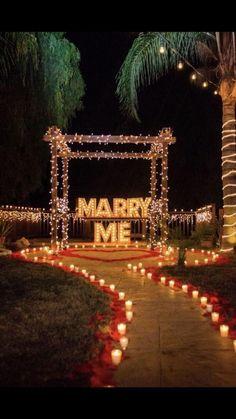 Romantic Room Surprise, Romantic Date Night Ideas, Romantic Dates, Wedding Goals, Wedding Planning, Dream Wedding, Wedding Day, Cute Proposal Ideas, Romantic Proposal