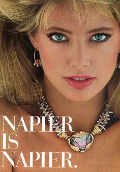 Napier 1985 Model: Kelly Emberg