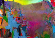 Jerald Melberg Gallery > Exhibitions > Current Exhibitions > Brian Rutenberg: River > Rutenberg - Late River