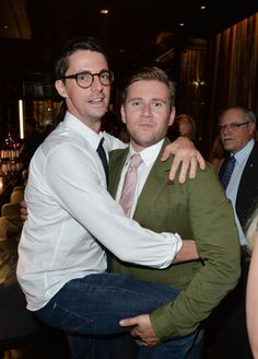 Allen Leech with Matthew Goode Leechgoode anybody?