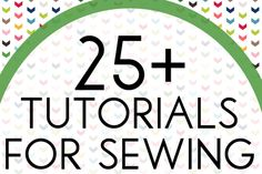 25+ Tutorials for Sewing Kids' Clothes at Sweet Rose Studio