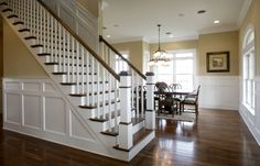 Two Story Cottage: Wainscoting Inspiration {or Wainscoting Envy}