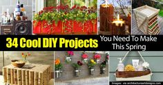 Spring is in the air so that means it's time to liven things up with some unique DIY home decoration ideas. Imagine taking a ordinary wine bottle and turning it into a small garden. Or making a colorful wastebasket out of recyclable newspaper you have laying around. You'll be amazed at how these ideas could …