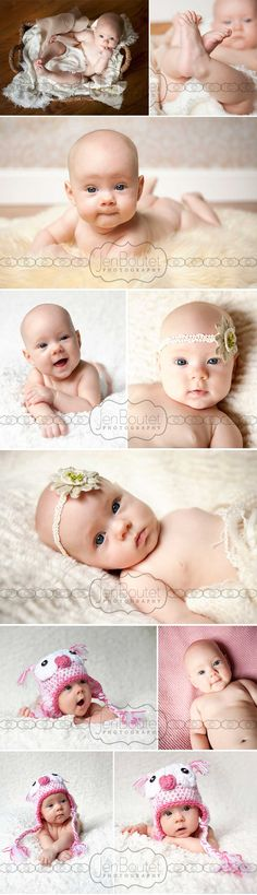 Baby blue eyes - Charlottesville Baby Photography
