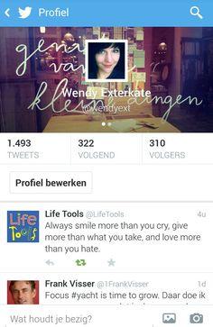 Wendy twittert: www.twitter.com/wendyext Always Smile, Crying, Hate, Twitter
