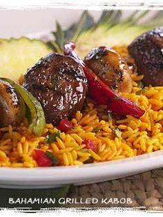 World's Recipe List: Bahama Breeze Bahamian Grilled Steak Kabobs - Feel free to share on Pinterest