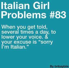 Italian Girl Problems #83