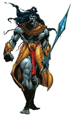 En Sabah Nur, also known as Apocalypse, is coming for the X-Men - is this Wolverine's death, and bionic soldier Cable coming in? Comic Book Characters, Marvel Characters, Comic Character, Comic Books Art, Fantasy Characters, Comic Art, Character Design, Book Art, Marvel Villains