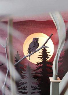 Helen Musselwhite. Arte en papel.  http://www.helenmusselwhite.co.uk